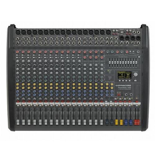 Dynacord Powermate 1600-3 In-Stock 16-Channel Compact Power-Mixer