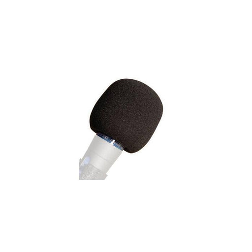 Yorkville Iws-1Bk Foam Windsock In Black For Microphone