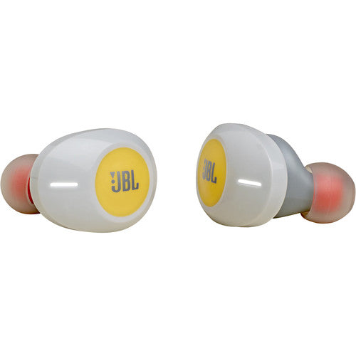Écouteurs intra-auriculaires sans fil JBL TUNE 120TWS (Jaune) - Red One Music