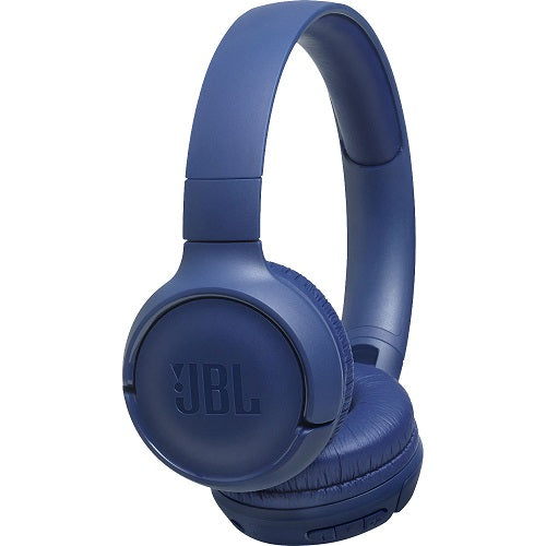 JBL Tune 500BT Wireless On-Ear Headphones (Blue)
