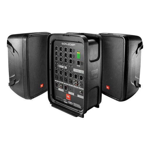 JBL Eon208P Pa System With 8-Channel Mixer And Bluetooth