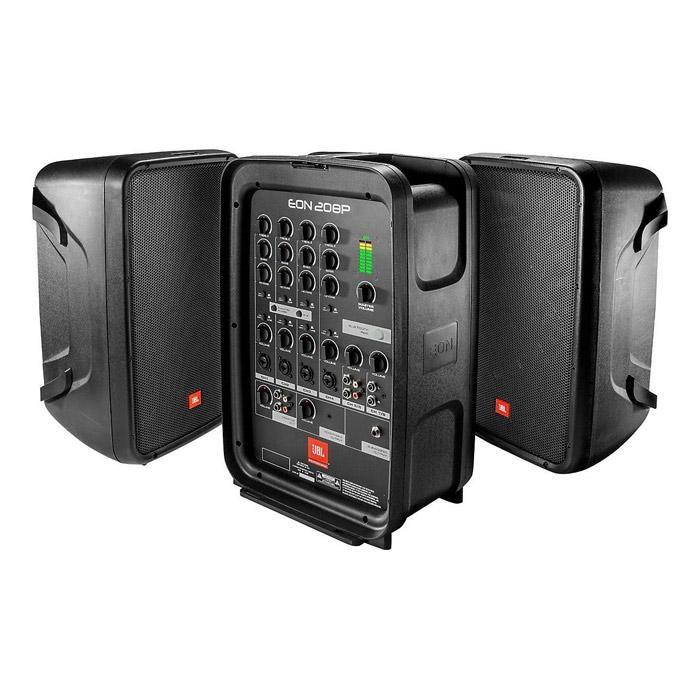 JBL Eon208P Pa System With 8-Channel Mixer And Bluetooth - Red One Music