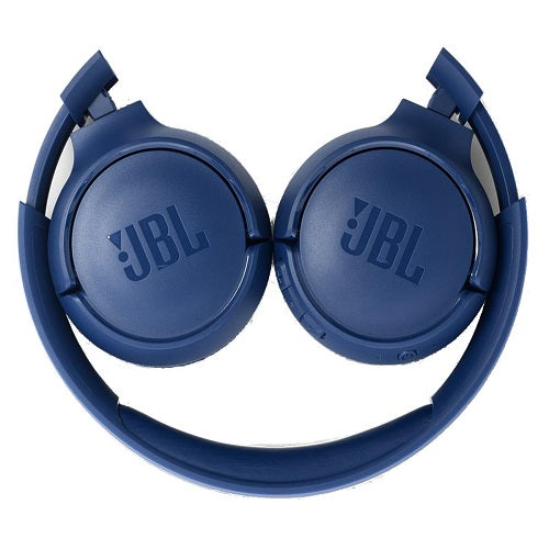 JBL TUNE 500 Wired On-Ear Headphones (Blue)