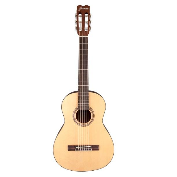 Jasmine Classical 3/4 Size Jc-23 Classical Guitar - Red One Music