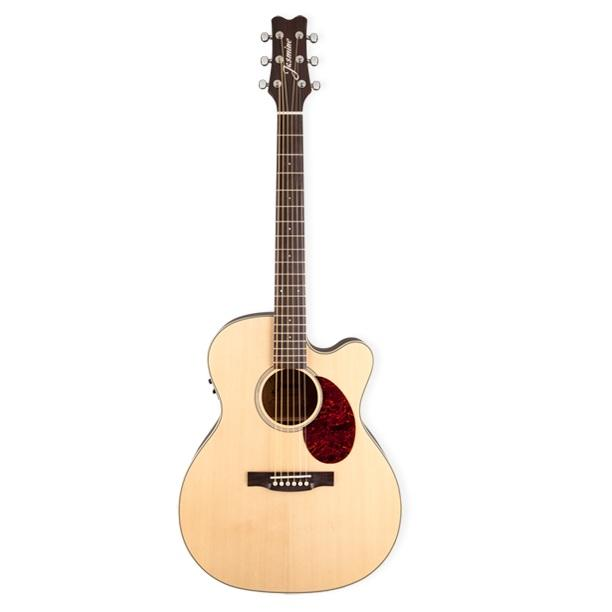 Jasmine Orchestra Cutaway Jo-37Ce Acoustic Electric Guitar - Red One Music