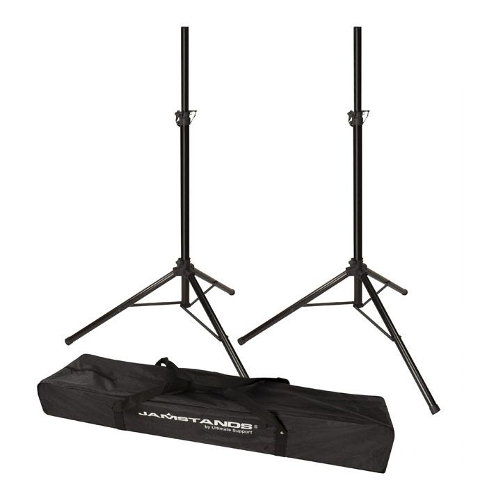 Ultimate Support Js-Ts50-2 Jamstandsreg Series Pair Of Tripod Speaker Stand With Free Carrying Bag