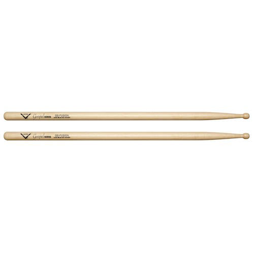 Vater Vgsfw Gospel Fusion Hickory Wood Tip Drum Sticks - Red One Music