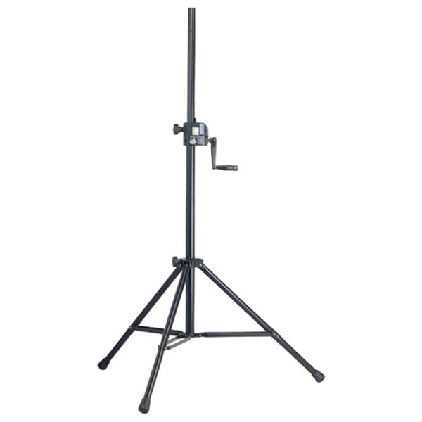 K&M 213 Heavy Duty Speaker Stand - Red One Music