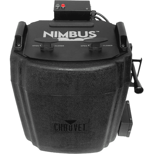 Chauvet Nimbus Professional Dry Ice Machine Creates Thick Low-Lying Clouds That Hug The Floor