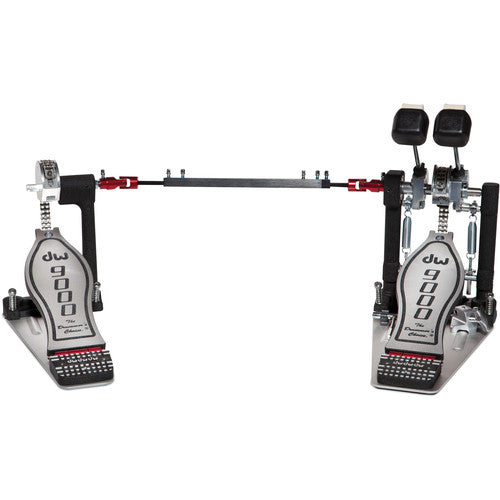 Dw Drum Workshop DWCP9002 Double-Bass Kick Pedal - Red One Music