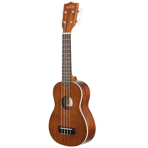 Kala Ka-S  Soprano Mahogany Ukulele Brown - Red One Music