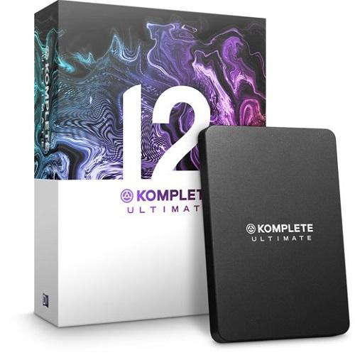 Mise à niveau de Komplete 12 Ultimate par Native Instruments Logiciel K8-12 Production Suite