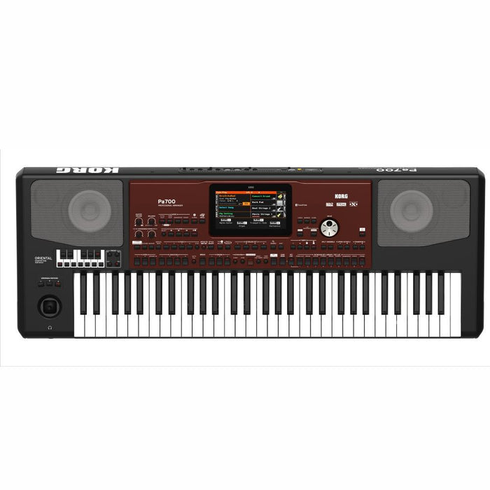 Korg PA700 Oriental Professional Arranger 61 Keys Keyboard - Red One Music
