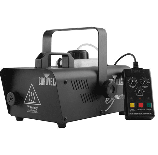 Chauvet Hurricane-H1200 Compact And Lightweight Fog Machine Emits Thick Bursts Of Fog To Enhance Any Light Show - Red One Music
