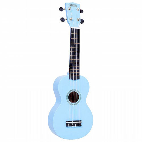Mahalo Mr1-Lbu Soprano Ukulele W/ Bag Rainbow Series -Light Blue - Red One Music