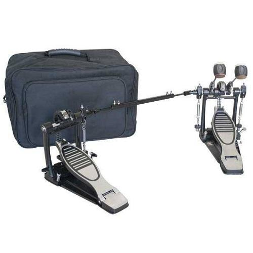 Westbury Double Pedal With Bag Dp1000Rb Double Pedal - Red One Music