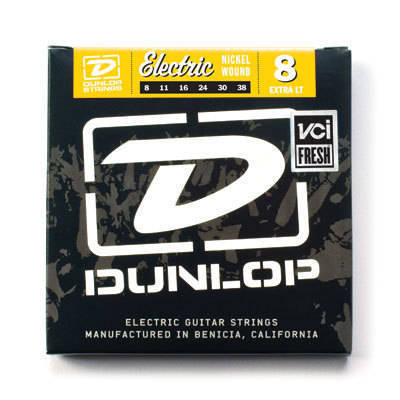 Dunlop DEN0838 Cordes électriques Extra-Light 8-38 - Red One Music