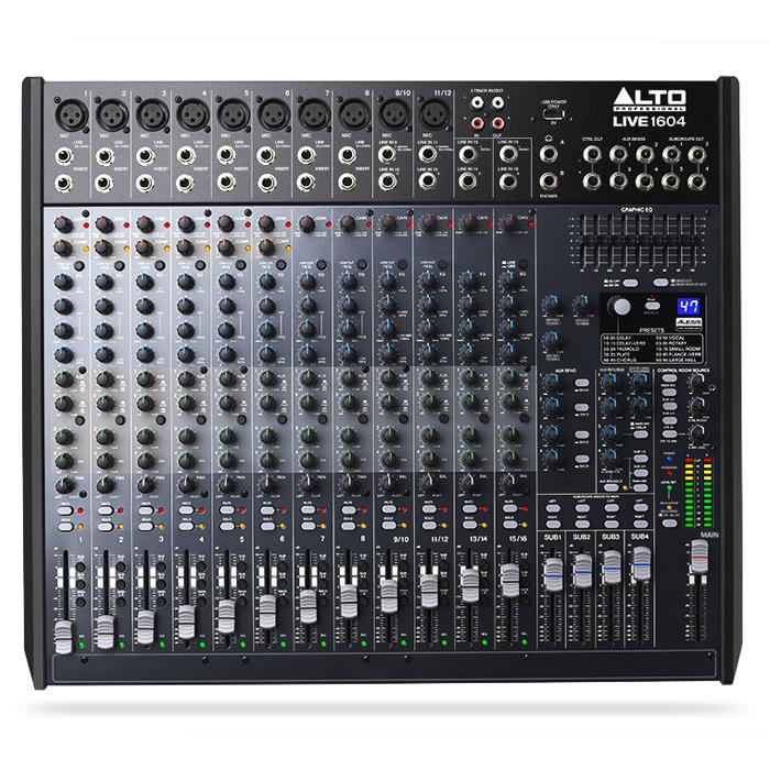 Mélangeur 1604-Bus Alto Live 16 Professional 4-Channel