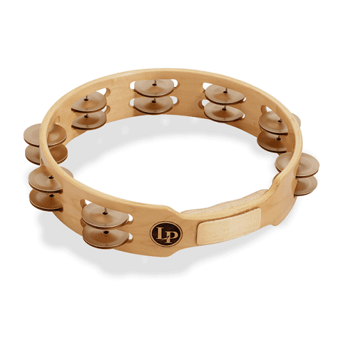 LP LP382-A Aluminum Tambourine Double Row Aluminum Tambourine - Red One Music