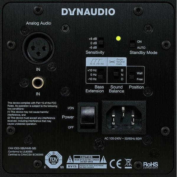 Dynaudio LYD-8 Amplification Classe D 112 Db Haut-Parleur Woofer 8 Pouces - Red One Music