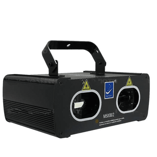 Big Dipper M500B-2 Dual Blue Laser System - Red One Music