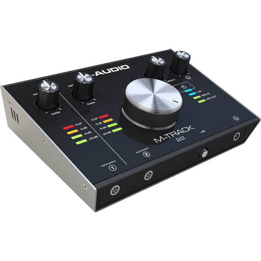 M-Audio M-Track 2X2 C-Series 2-In2-Out Usb Audio Interface 24-Bit192Khz