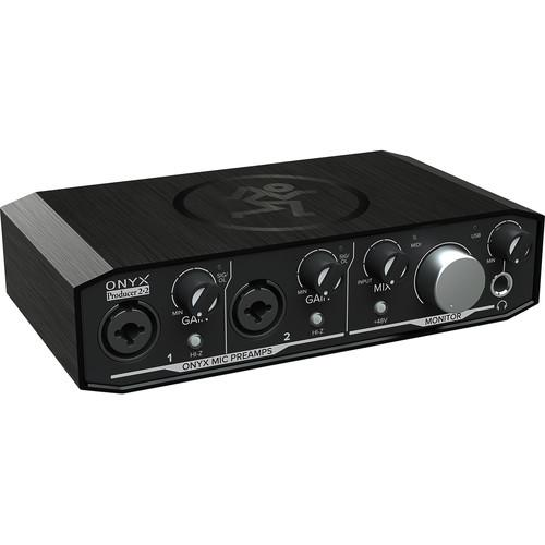 Mackie Onyx Producer 2•2 2x2 USB Audio Interface with MIDI - Red One Music