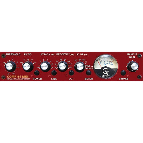 Golden Age Project COMP-54 MKII 1-Ch 2254-Style Compressor - Red One Music