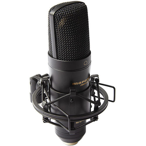 Marantz Professional Mpm-2000U Studio Condenser Usb Microphone With Shock Mount - Red One Music