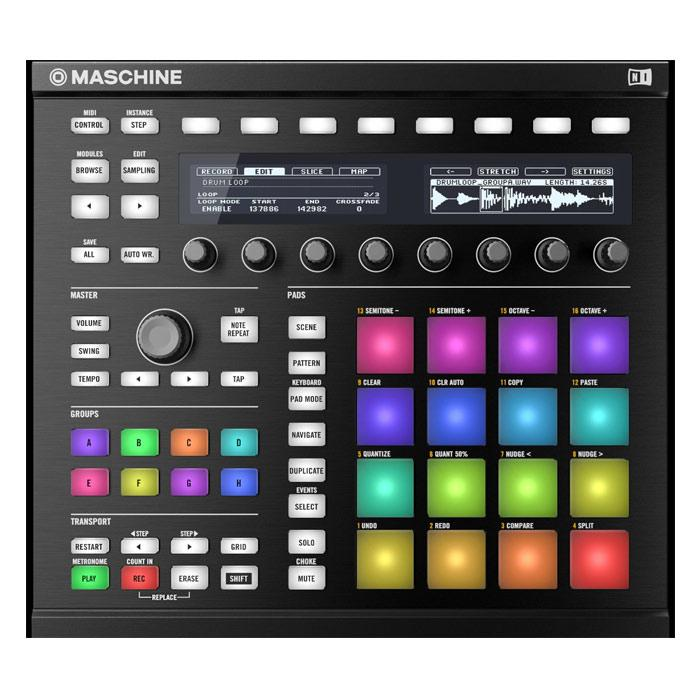 Native Instruments Maschine Mk2 Black Sequencer Sampler Amp Multi-Effect Unit