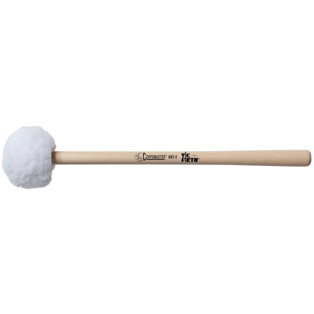 Vic Firth MB3S Corpsmaster® Bass mallet -- large head – soft