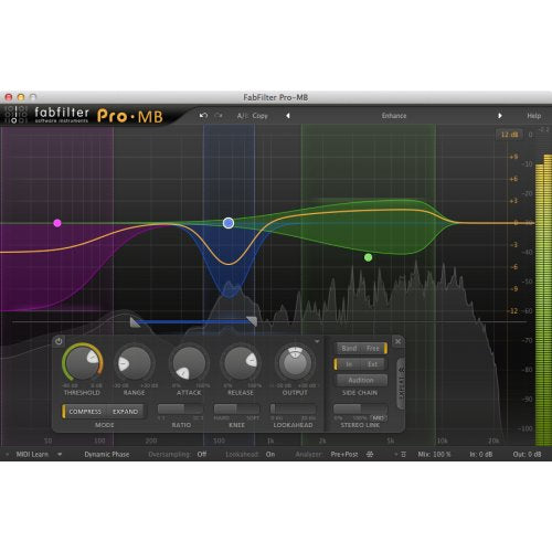 Fabfilter Pro-MB Compressor & Expander Plug-In (Download) - Red One Music