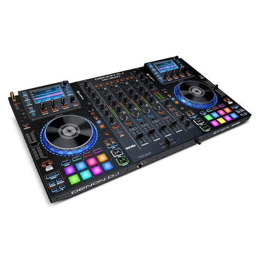Denon DJ MCX8000 Serato DJ Controller With Screens And Standalone Player - Red One Music