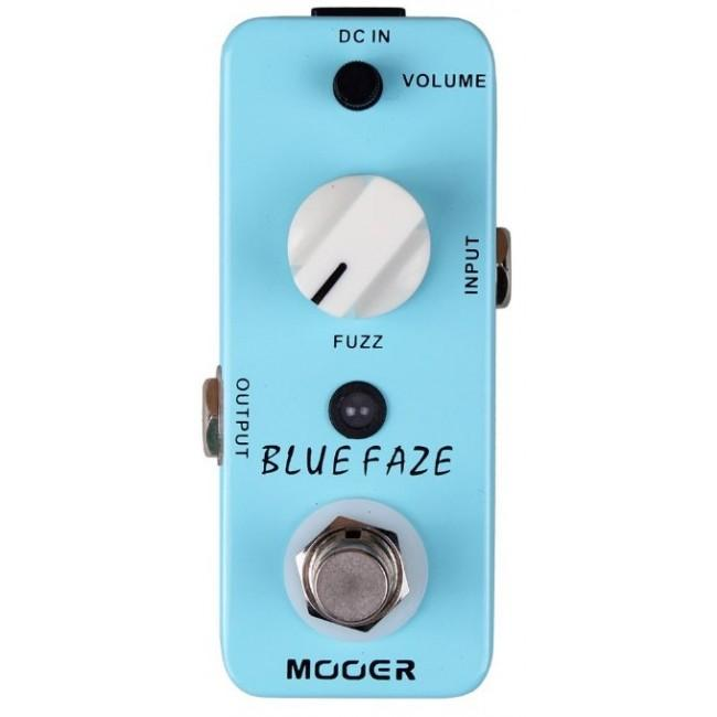 Mooer Mfz1 Blue Faze Fuzz Pedal - Red One Music