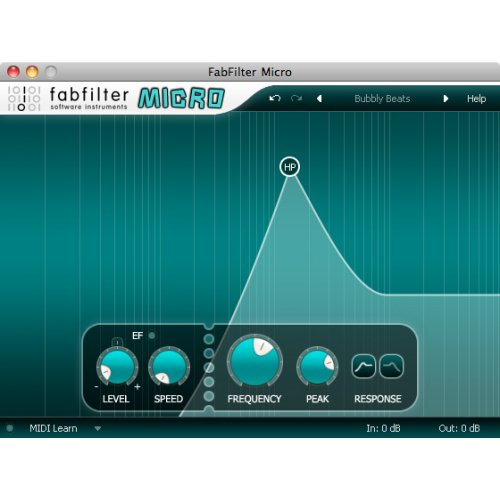 Fabfilter Micro Filter Plug-In (Download) - Red One Music
