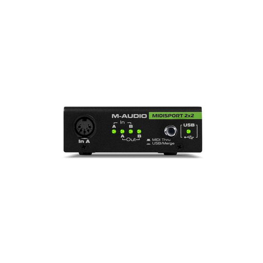 M-Audio Midisport 2X2 Anniversary Edition 2-In  2-Out Usb Bus-Powered Midi Interface
