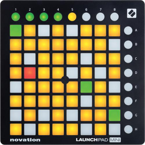 Novation Launchpad Mini Mk2 Perfomance Controller - Red One Music