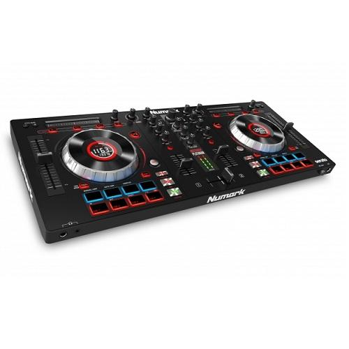 Numark Mixtrack Platinum 4-Deck Dj Controller With Jog Wheel Display