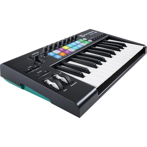 Clavier Novation LAUNCHKEY-25 MKII - Red One Music
