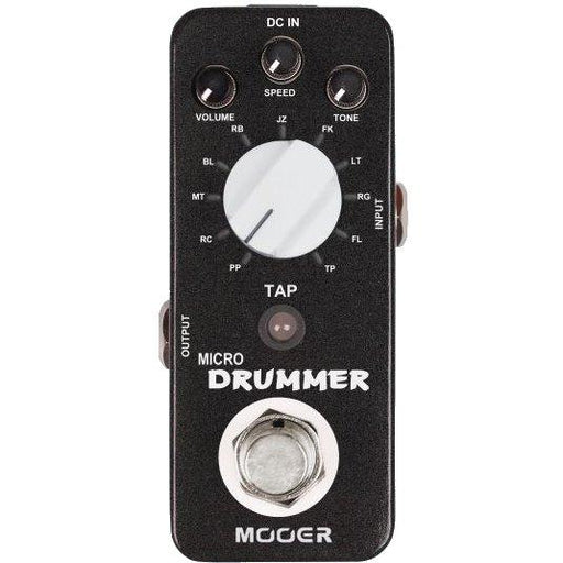 Mooer Mdm1 Mooer Micro Drummer Digital Drum Machine