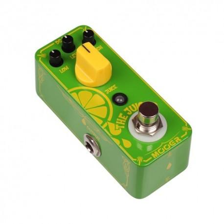 Mooer Anzi The Juicer Overdrive Pédale d'effets de distorsion pour guitare - Red One Music