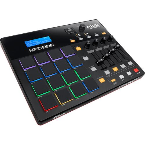 Akai Mpd226 Usb Controller - Red One Music
