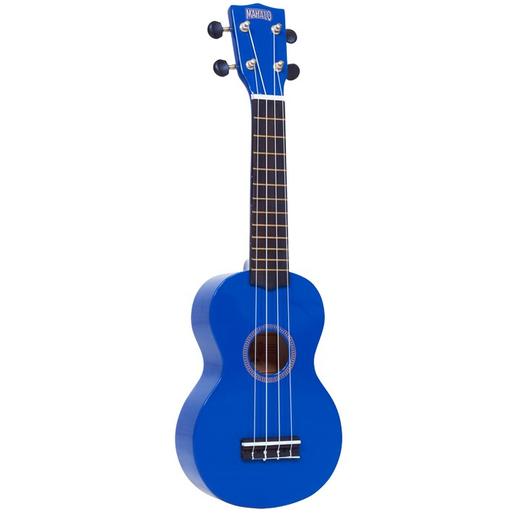 Mahalo MR1-BU  Mahalo Series Soprano Ukulele - Blue - Red One Music