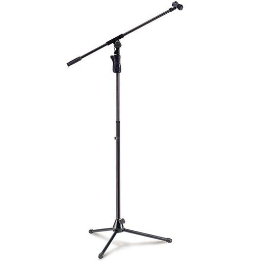 Hercules Ms631B Ez Grip Trépied Microphone Stand Wboom Amp Mic Clip - Red One Music