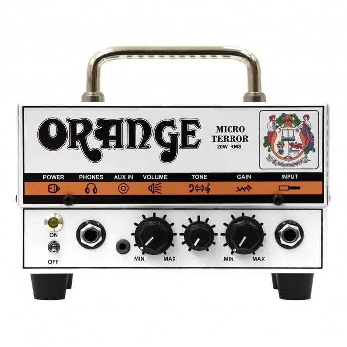 Tête d'ampli guitare hybride Orange Micro Terror Mt20 20W - Red One Music
