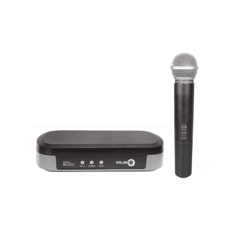 Music8 Uhf M8-1212Hh Wireless Microphone Hand Held - Red One Music