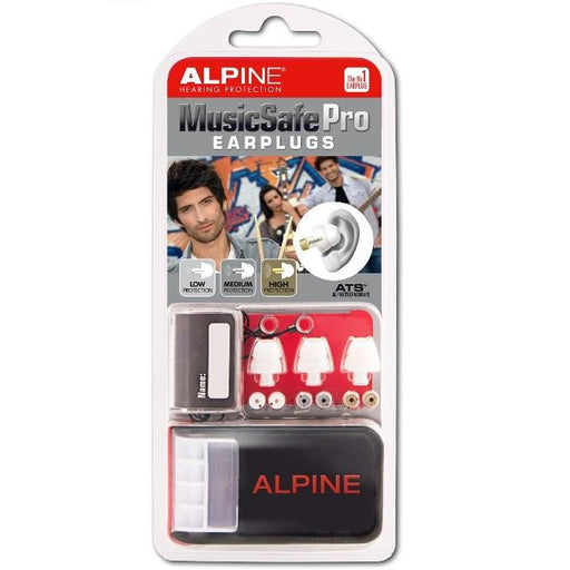 Alpine Music Safe Pro Three Exchangeable Filter Sets For Low Medium And High Protection