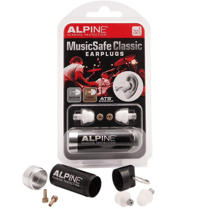 Alpine Musicsafe Classic  High Protection music Filters