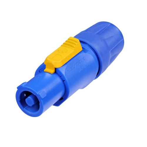 Neutrik Nac3Fca Powercon Connector Blue - Red One Music