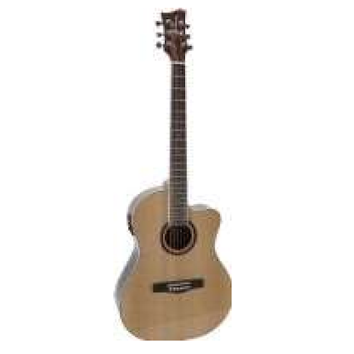 Jay Turser Acoustic Guitar Natural Jta524Ce-N - Red One Music
